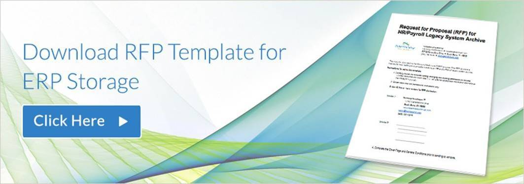 Sample Erp Rfp Template