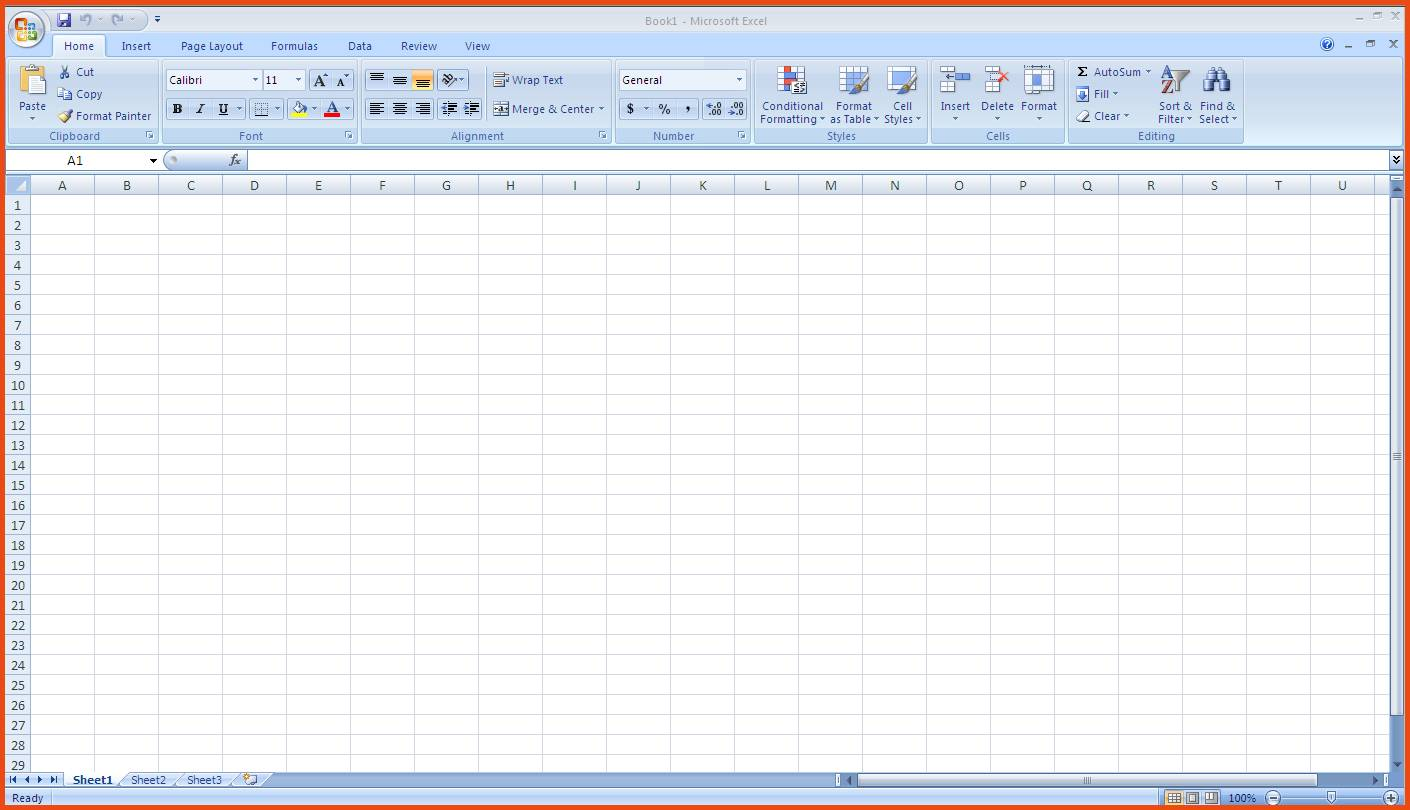 Sample Excel Spreadsheet Templates