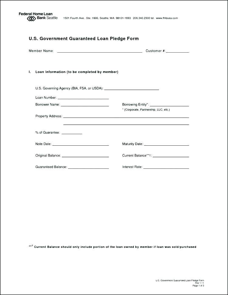 Sample Family Loan Agreement Template