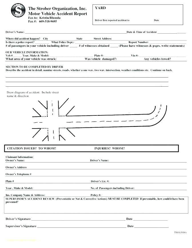 Sample Police Ticket Template