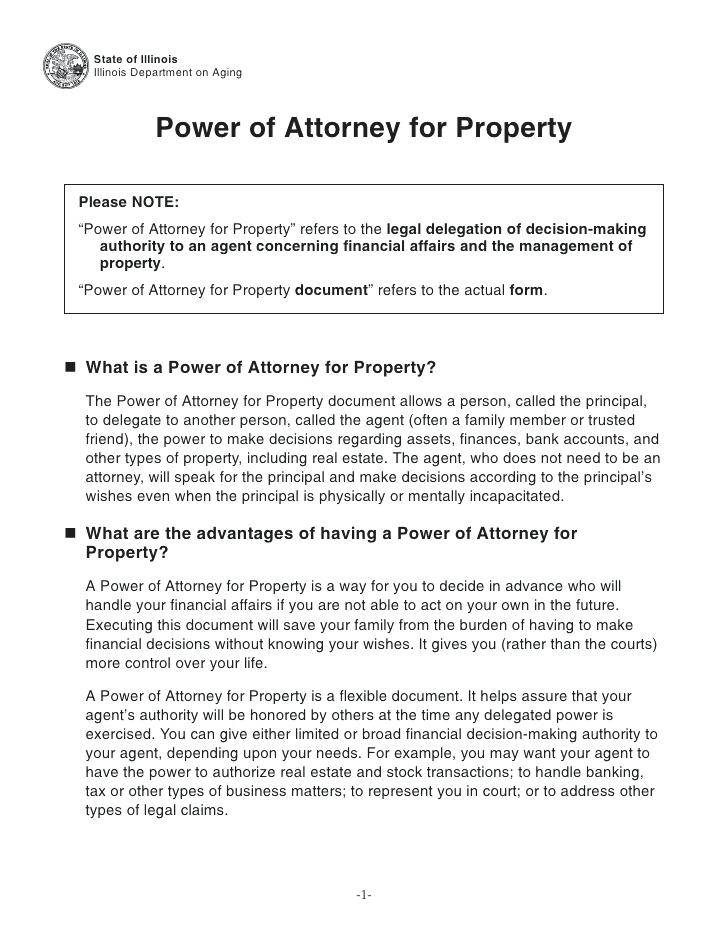 Sample Power Of Attorney For Property In Pakistan