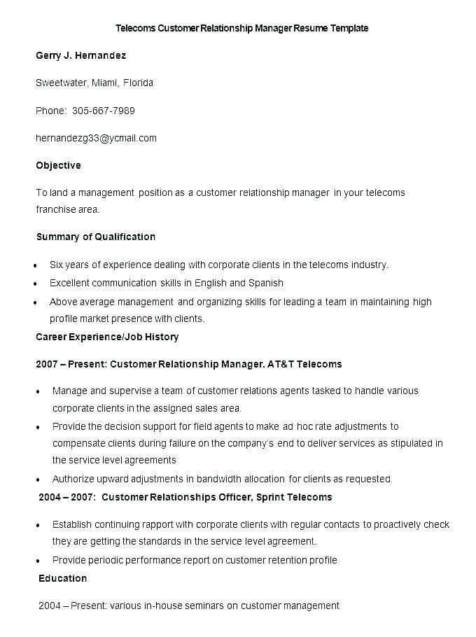 Sample Profile For Customer Service Resume