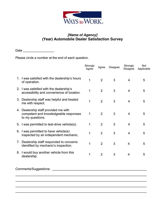 Sample Proposal For Customer Satisfaction Survey