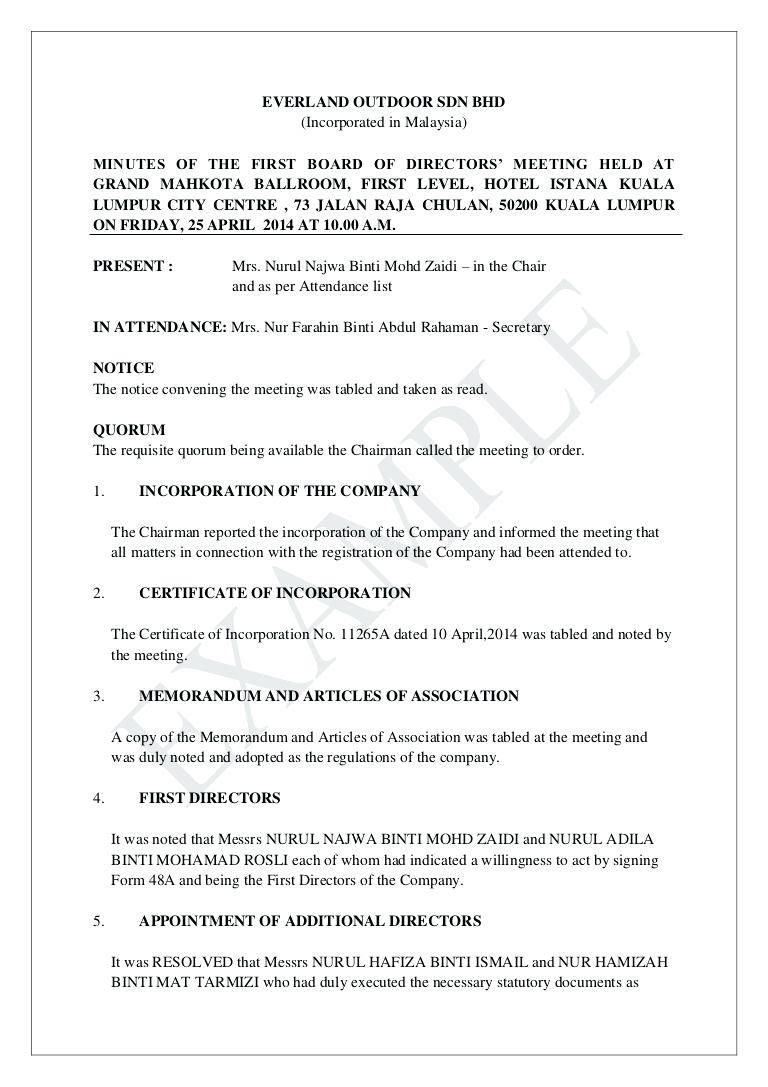 Sample Resolution Of Board Of Directors Philippines