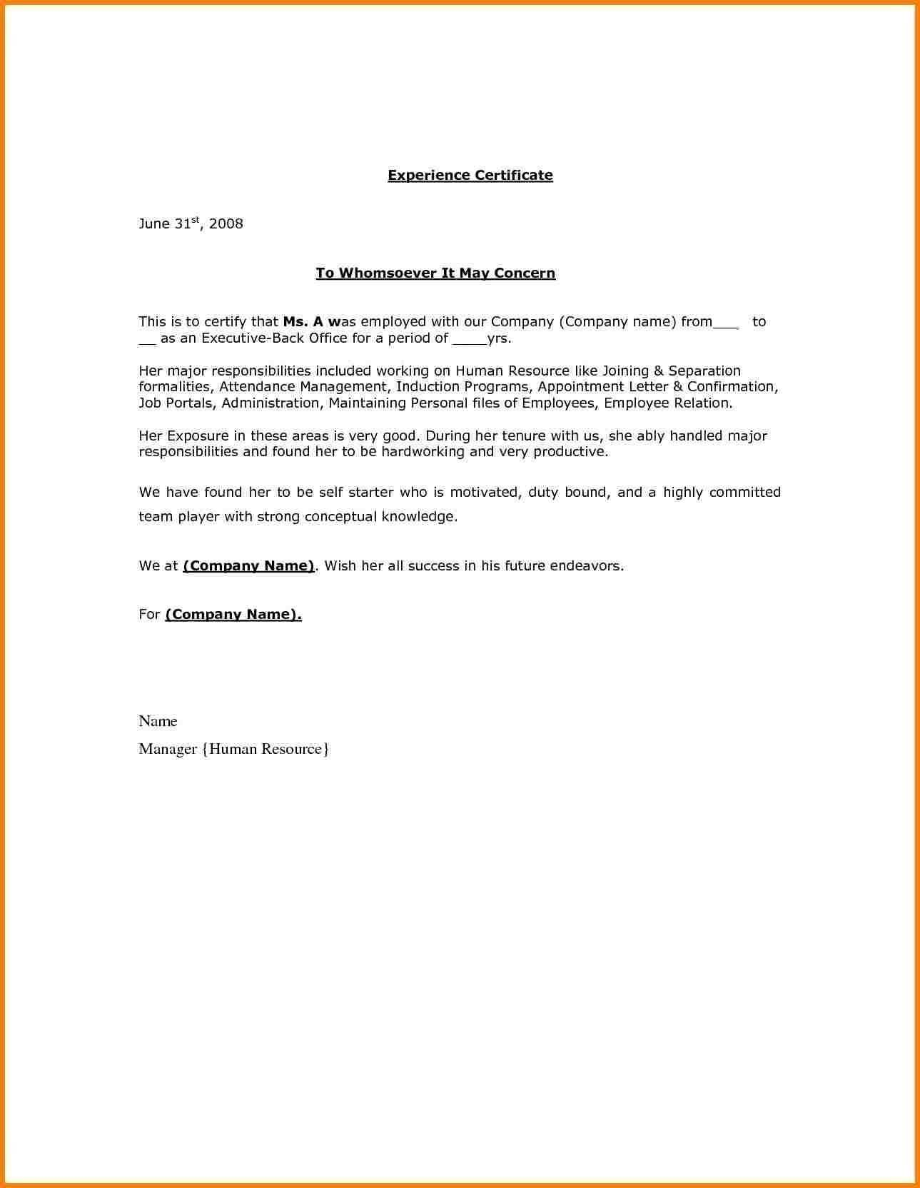 Sample Termination Of Employment Letter Uk