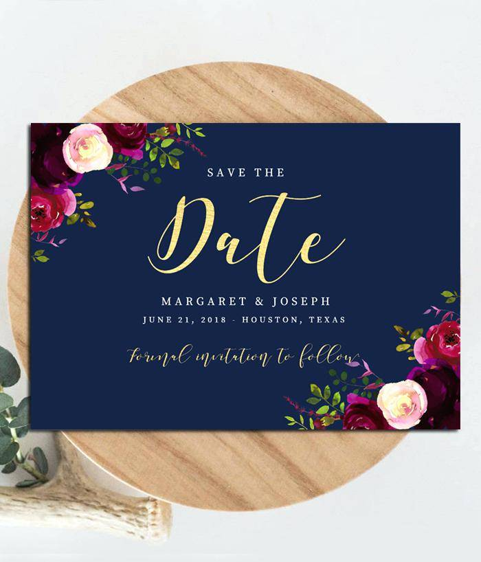 Save The Date Indian Wedding Templates