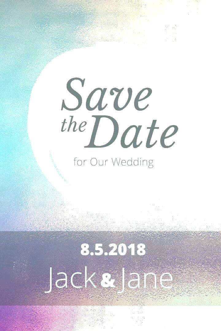 Save The Date Party Email Template Free