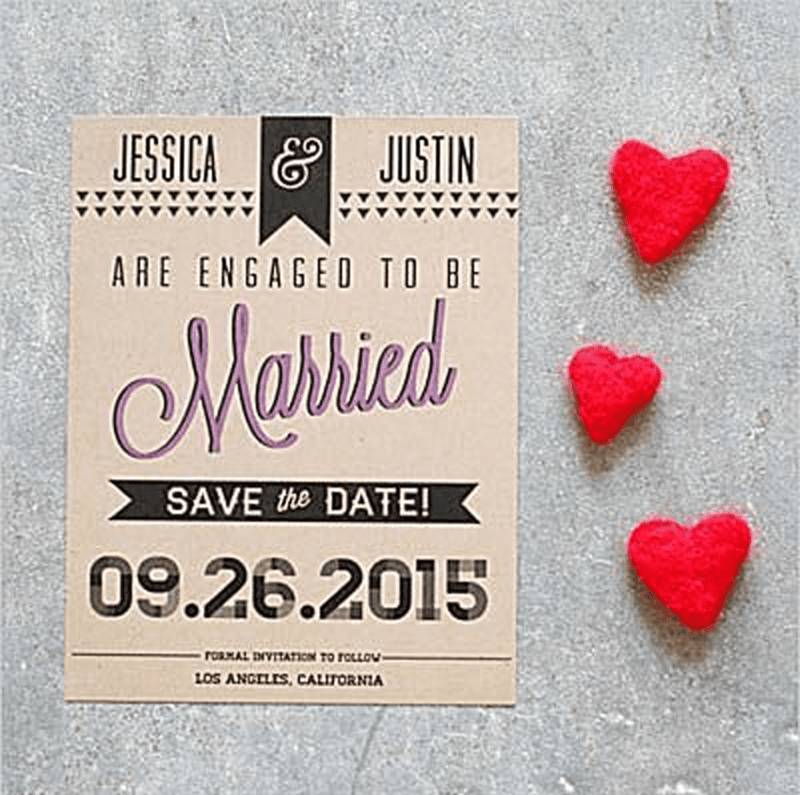 Save The Date Wedding Templates Png
