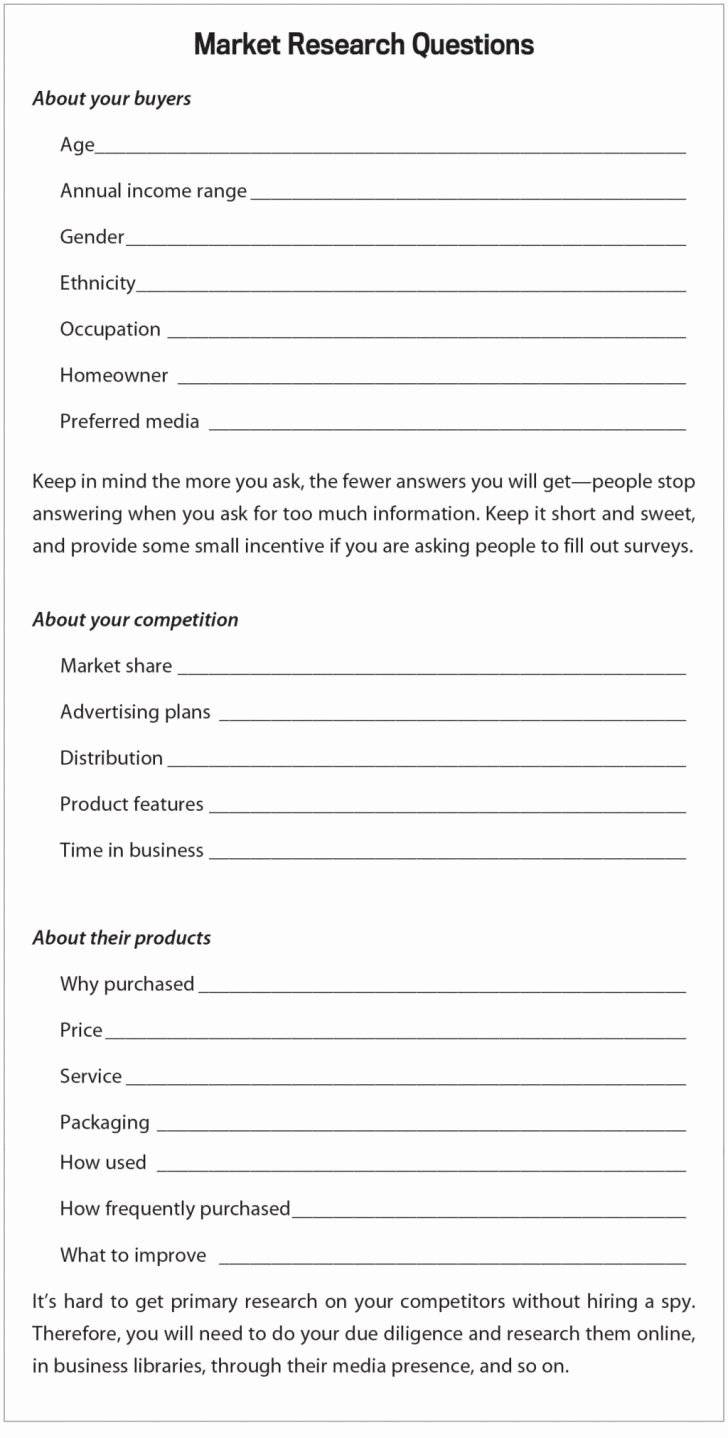 Sba 7a Business Plan Template