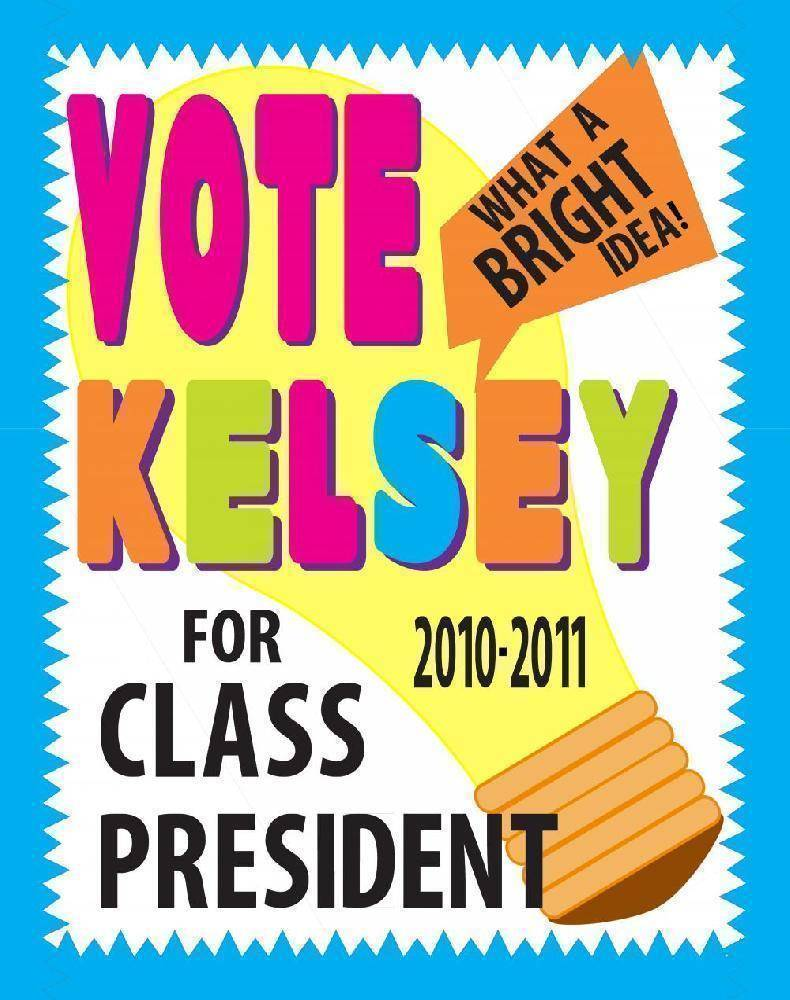 School Election Posters Templates Psd