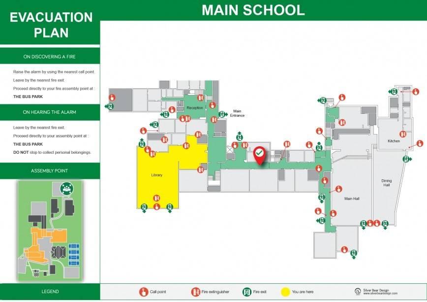 School Evacuation Plan Example
