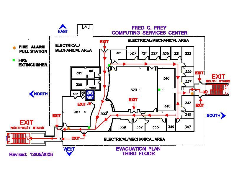 School Evacuation Plan Sample