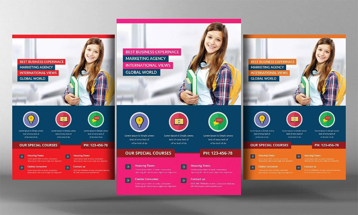 School Flyers Templates Free
