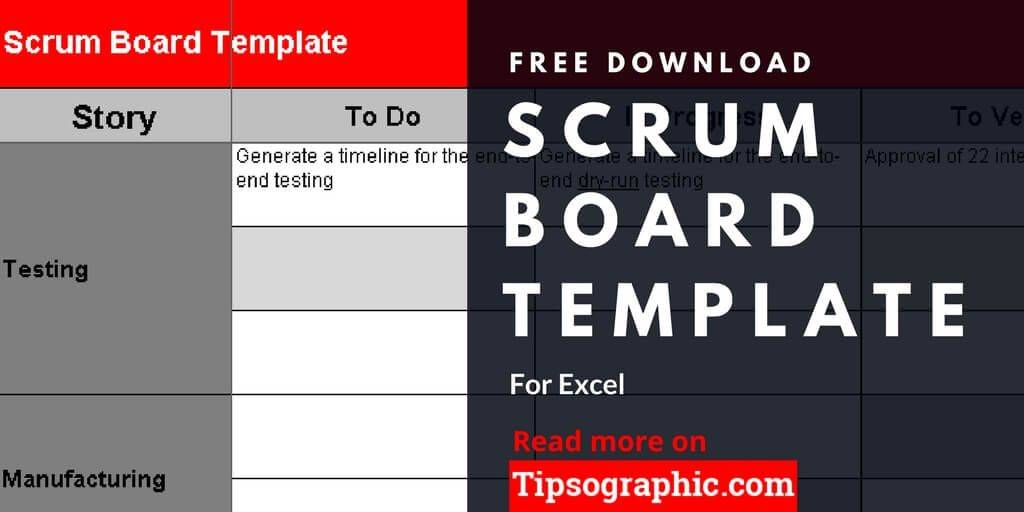 Scrum Excel Template