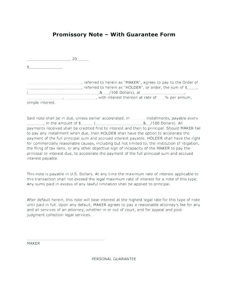 Secured Promissory Note Template Philippines