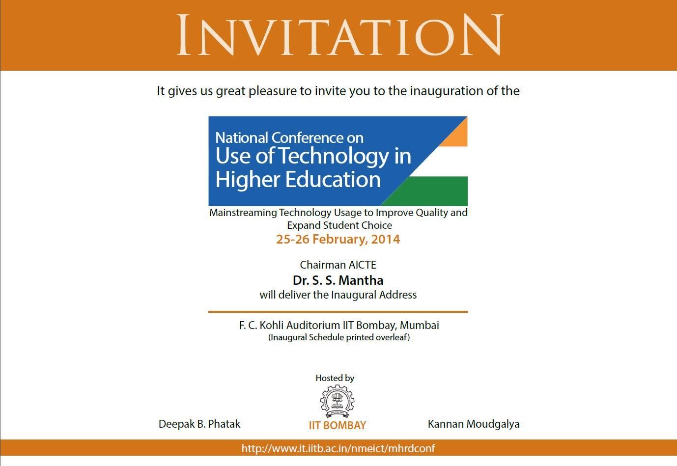 Seminar Invitation Designs