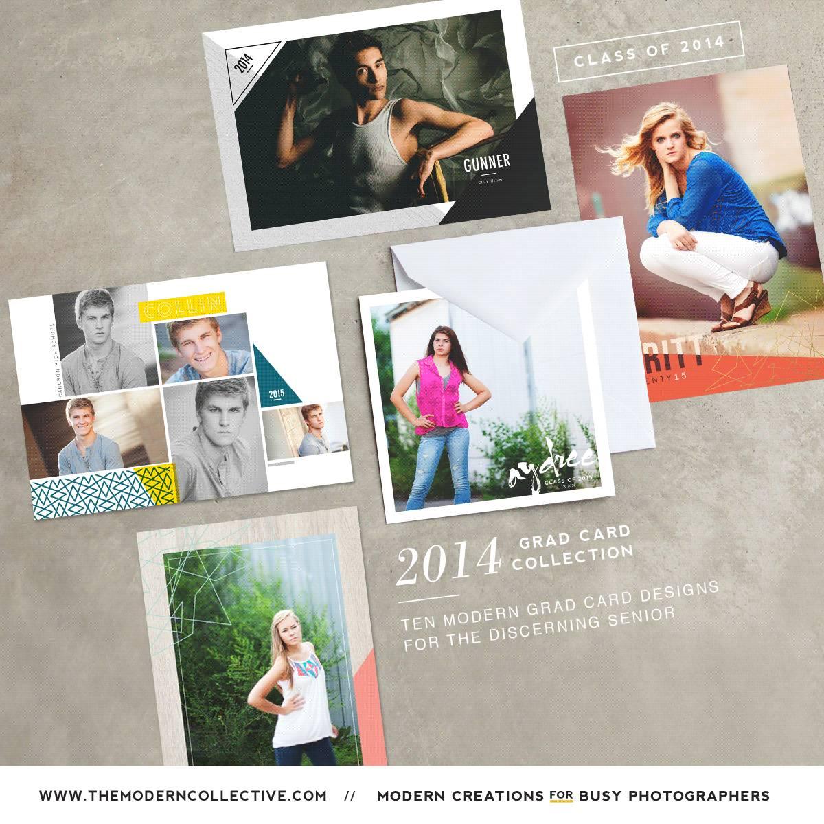 Senior Graduation Announcement Templates For Photographers
