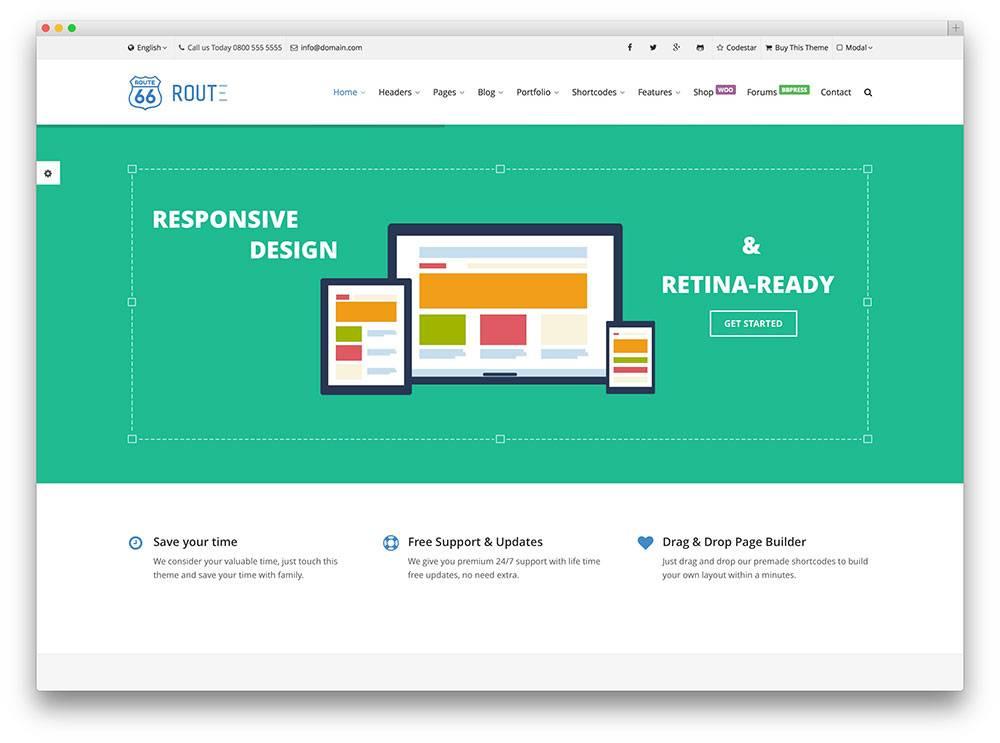 Seo Friendly Template WordPress