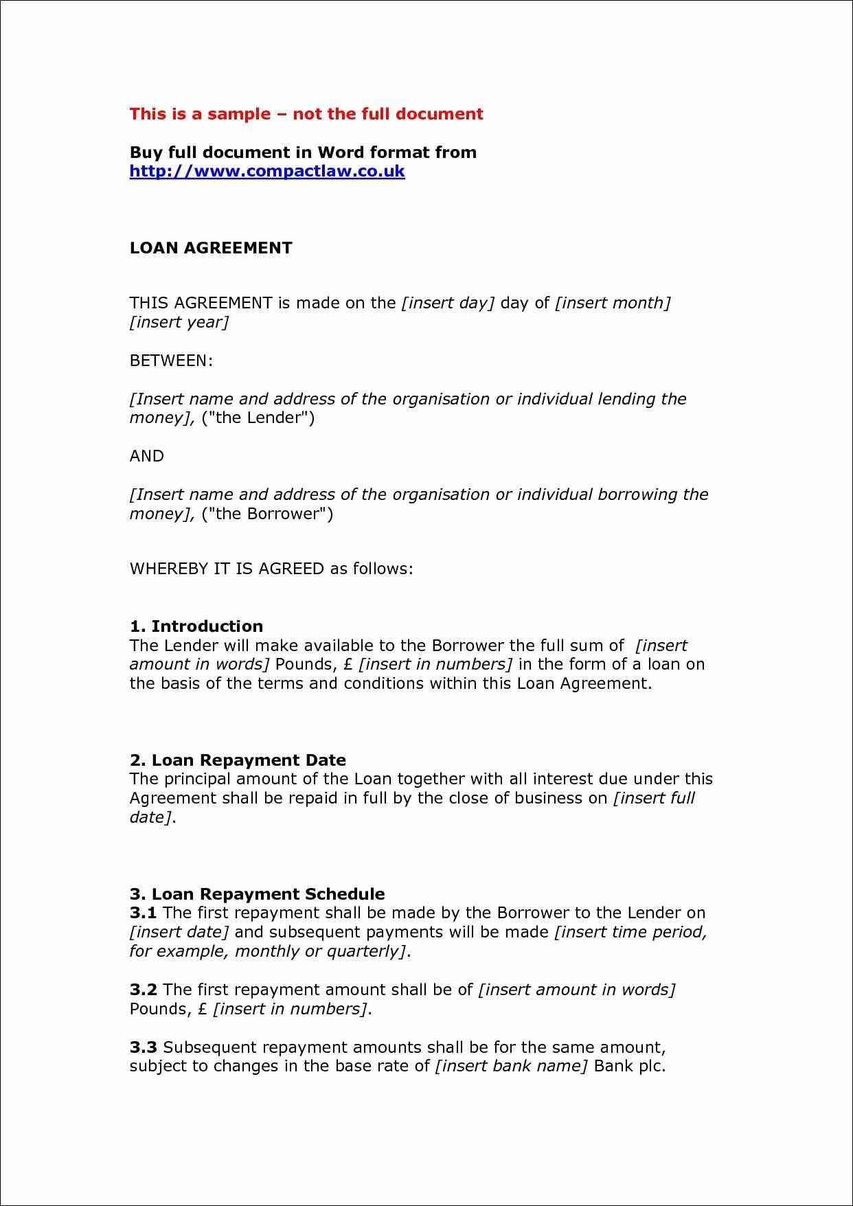 Separation Agreement Template Word