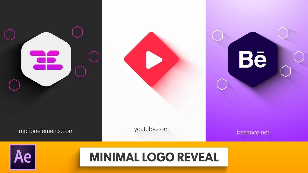 Shapeshifter Modern Logo Reveal After Effects Template Free