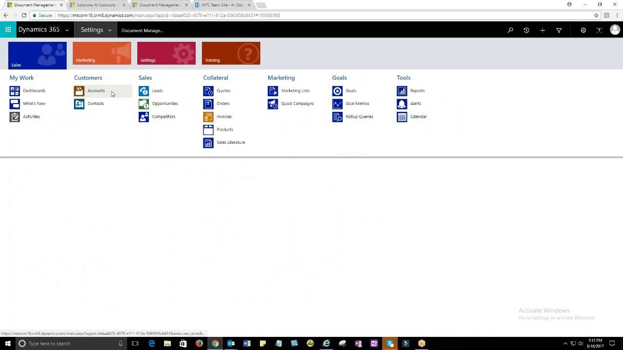 Sharepoint 2010 Crm Template Free
