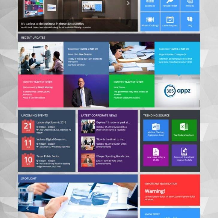 Sharepoint 2013 Html Master Page Templates