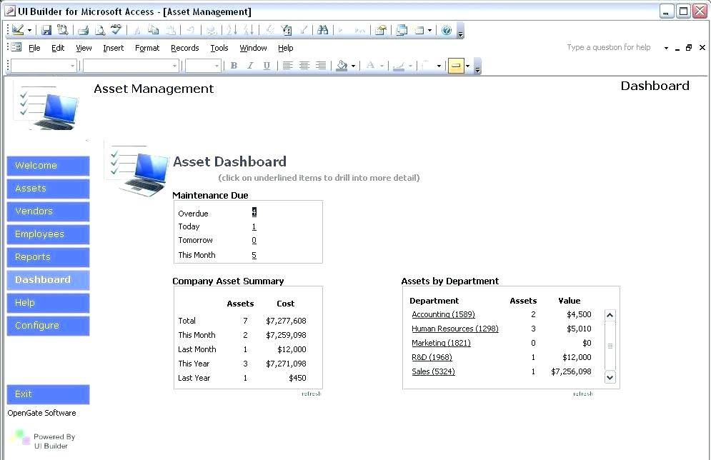 Sharepoint 2013 Inventory Template