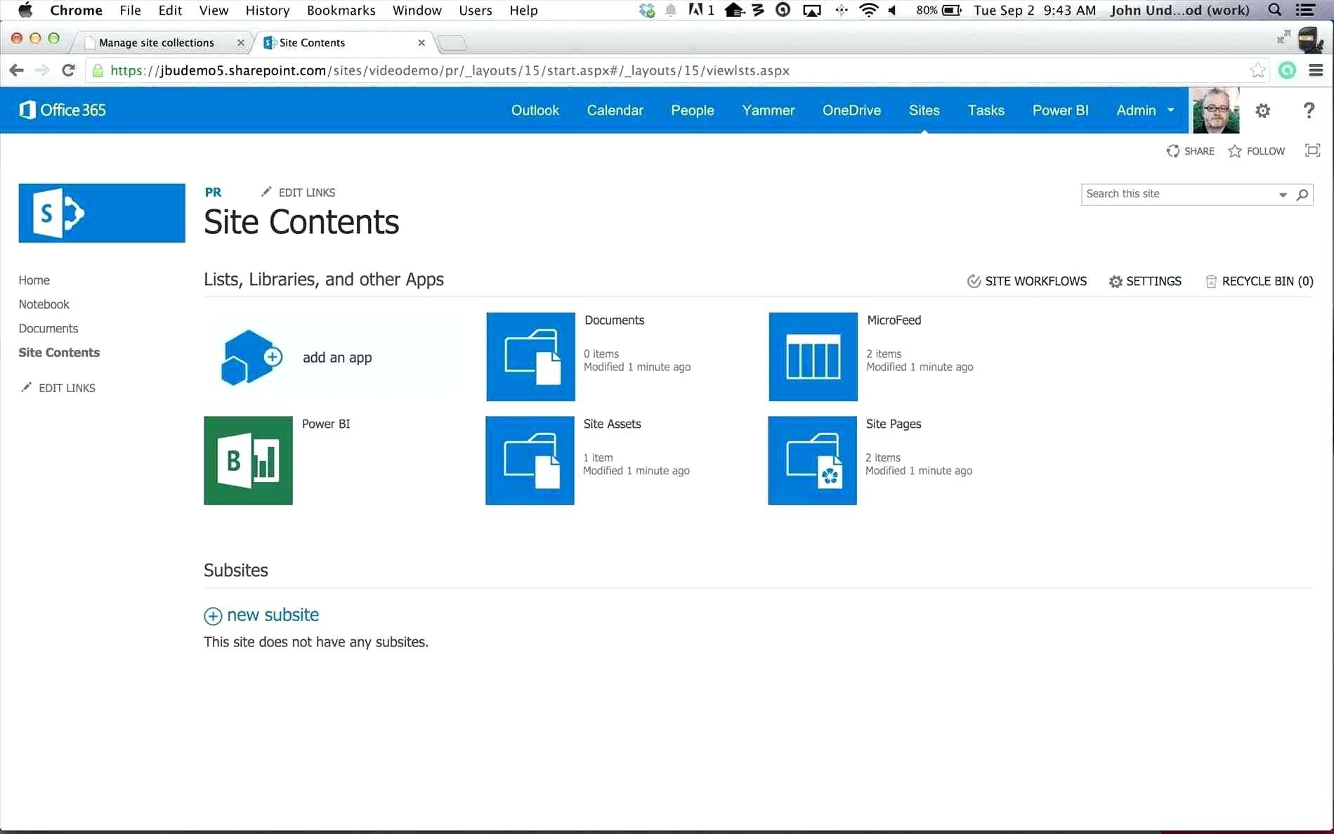 Sharepoint 2013 Project Management Site Template