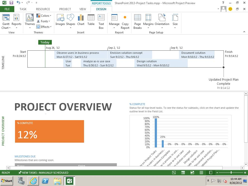 Sharepoint 2013 Project Site Template Features