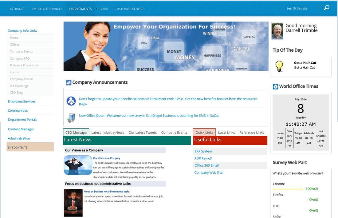 Sharepoint 2013 Responsive Master Page Templates