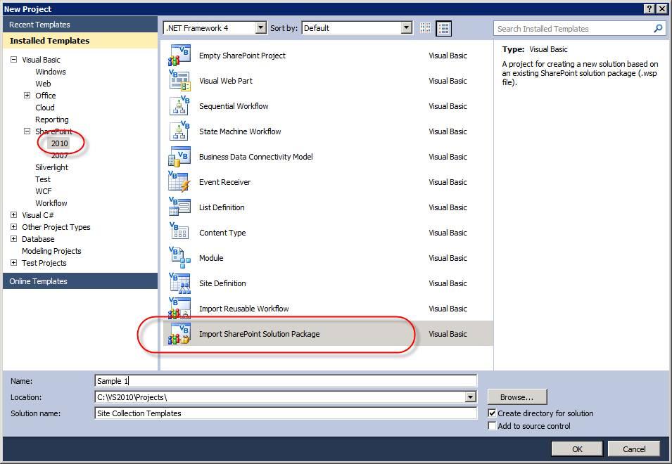Sharepoint 2013 Templates For Visual Studio 2010