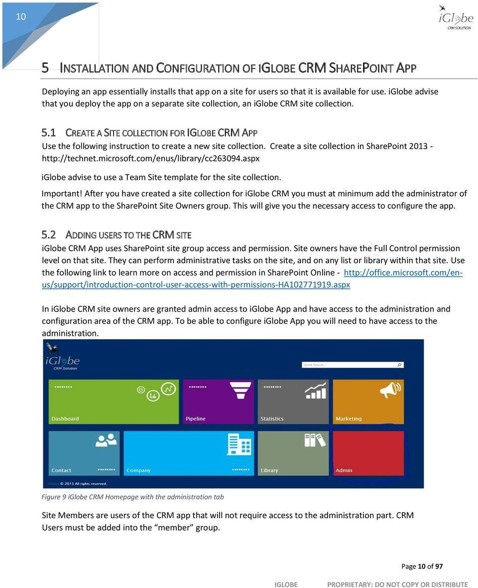 Sharepoint 2016 Crm Template