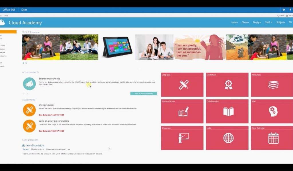 Sharepoint 365 Website Templates