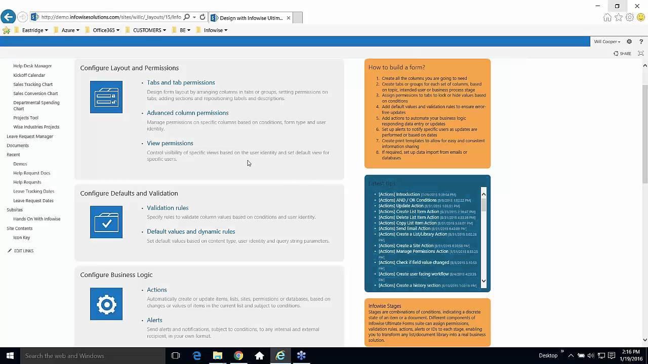Sharepoint Foundation 2013 Helpdesk Template