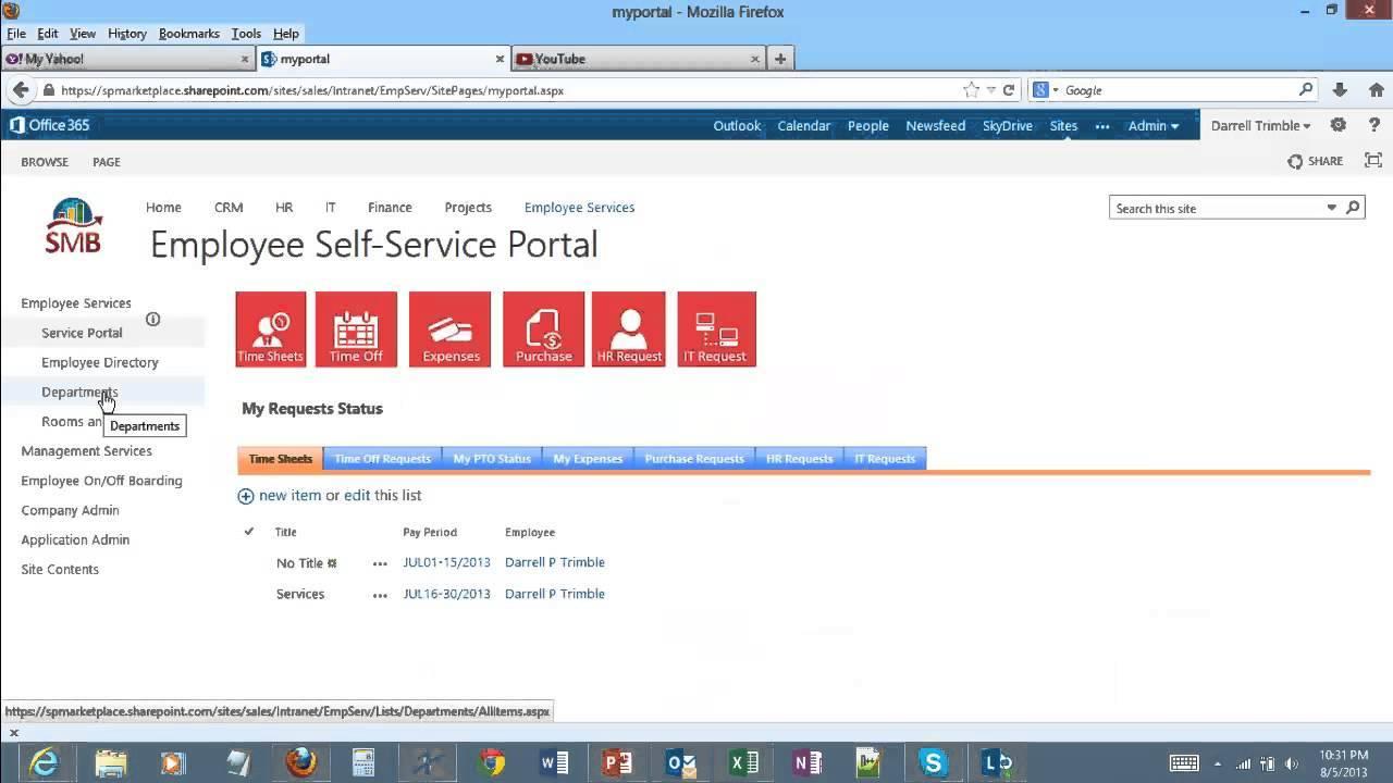 Sharepoint Hr Portal Templates