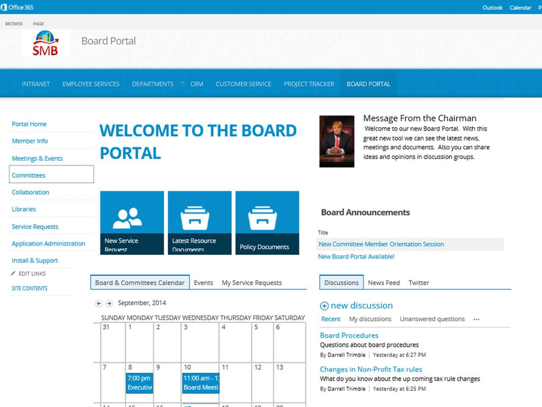 Sharepoint It Helpdesk Template Demo