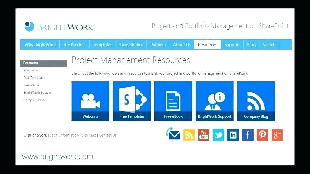 Sharepoint Project Tracking Template