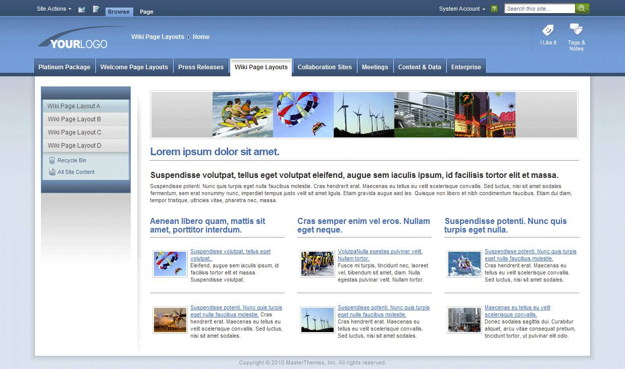 Sharepoint Template Images