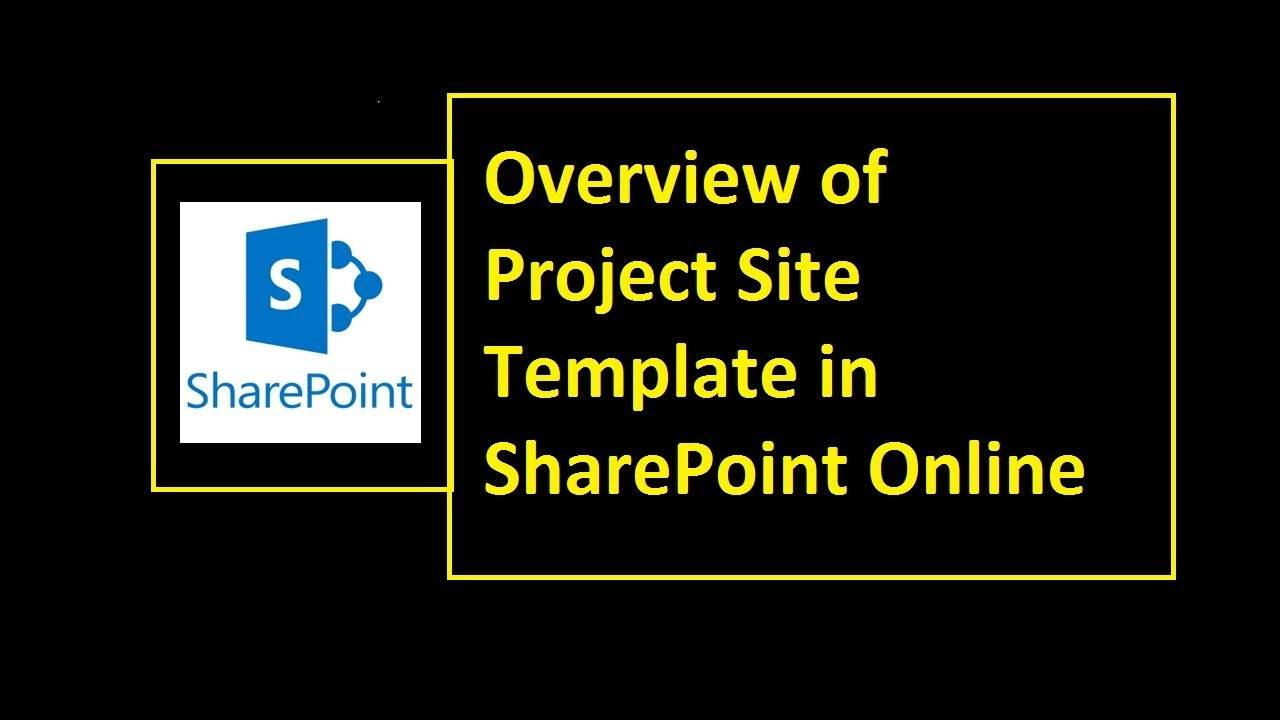 Sharepoint Template Project Site