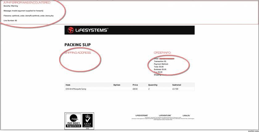 Shopify Order Printer Templates Free