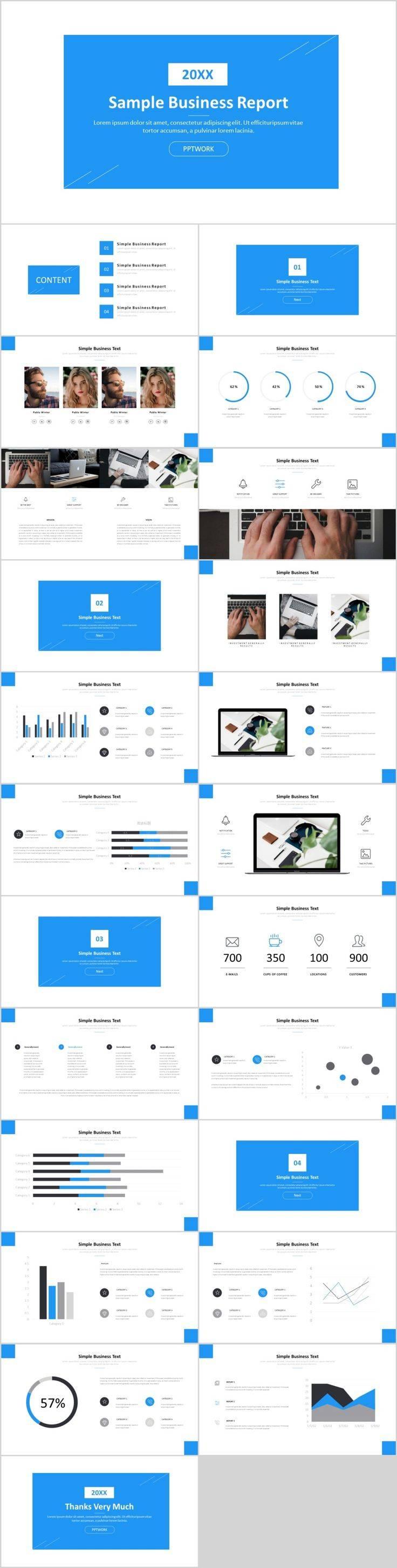 Simple Business Presentation Templates