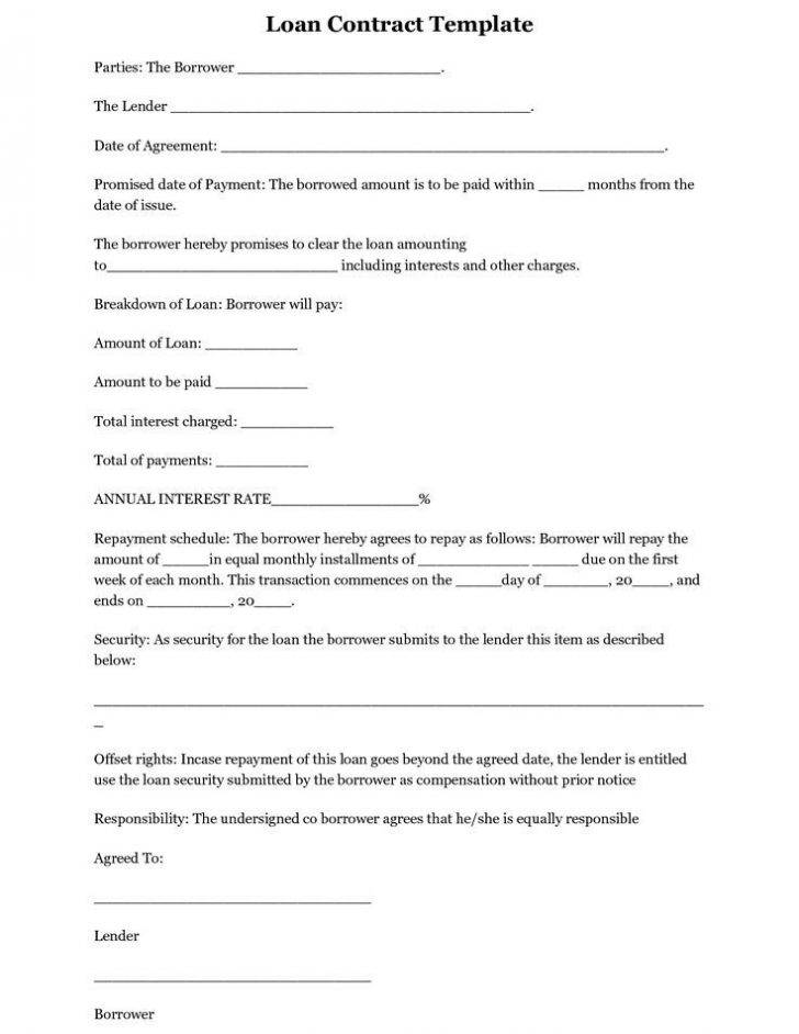Simple Employee Contract Template