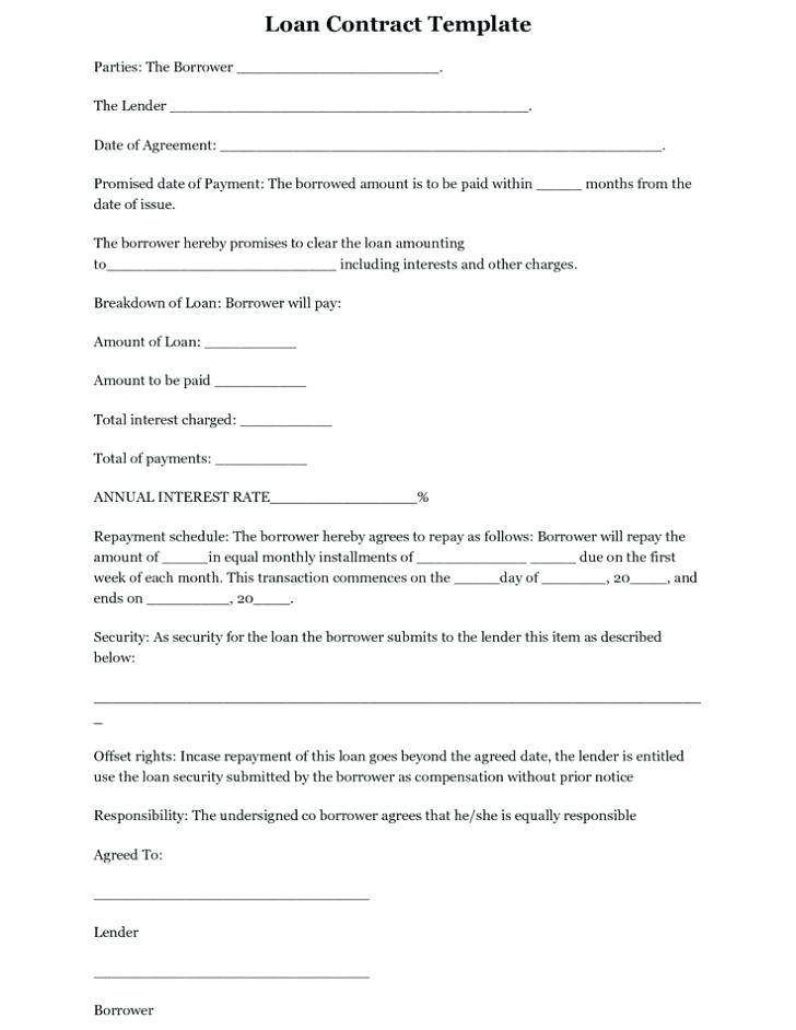 Simple Employment Contract Template Free Uk