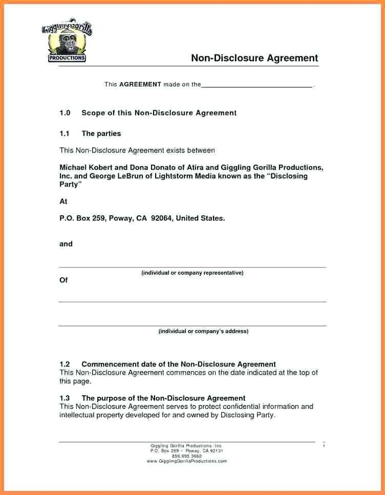 Simple Hold Harmless Agreement Sample