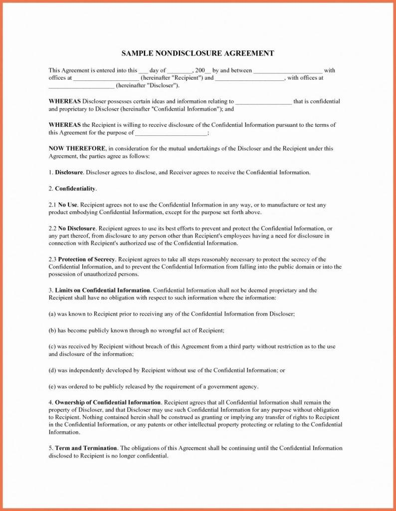 Simple Manufacturing Agreement Template