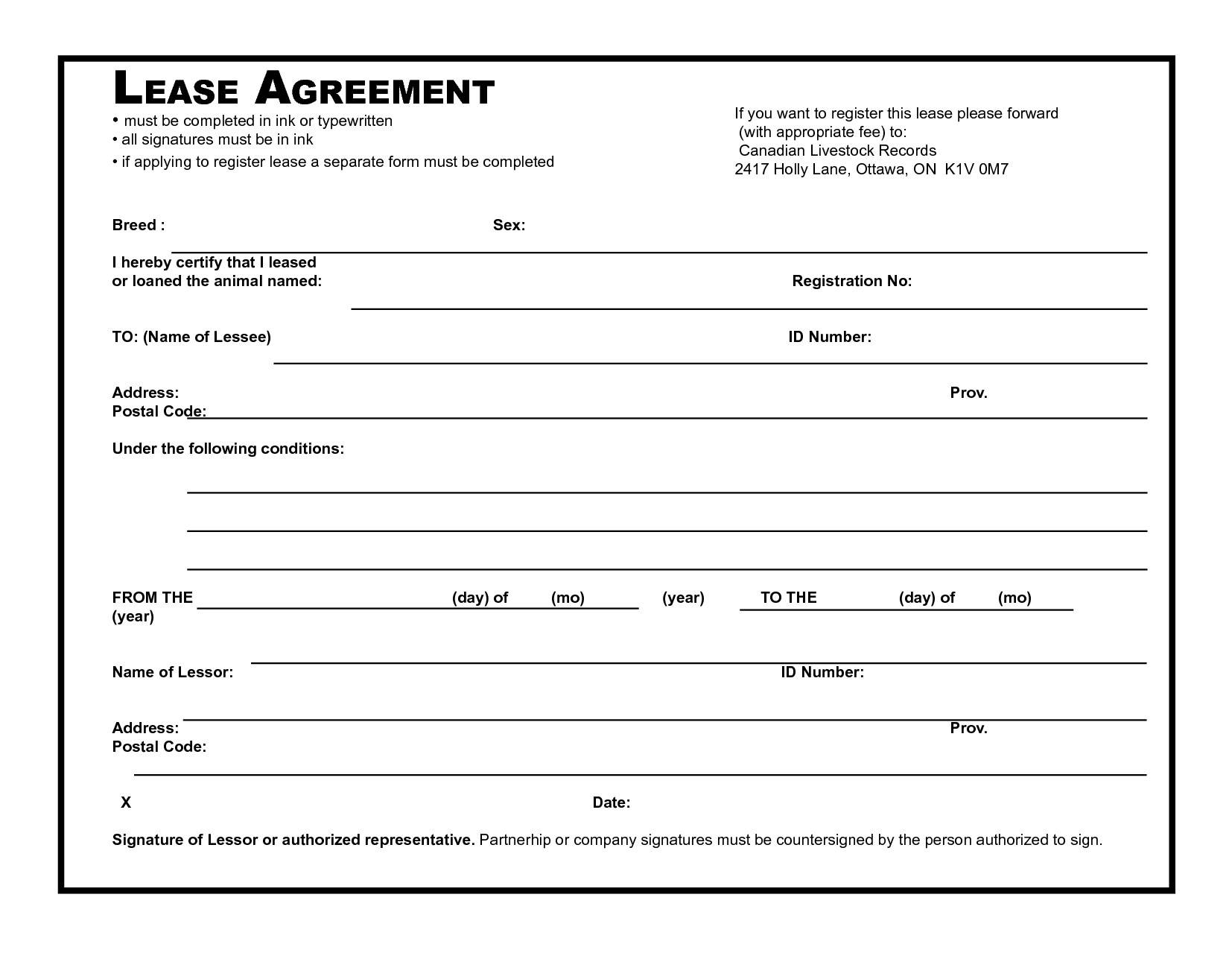 Simple Office Space Lease Agreement Template