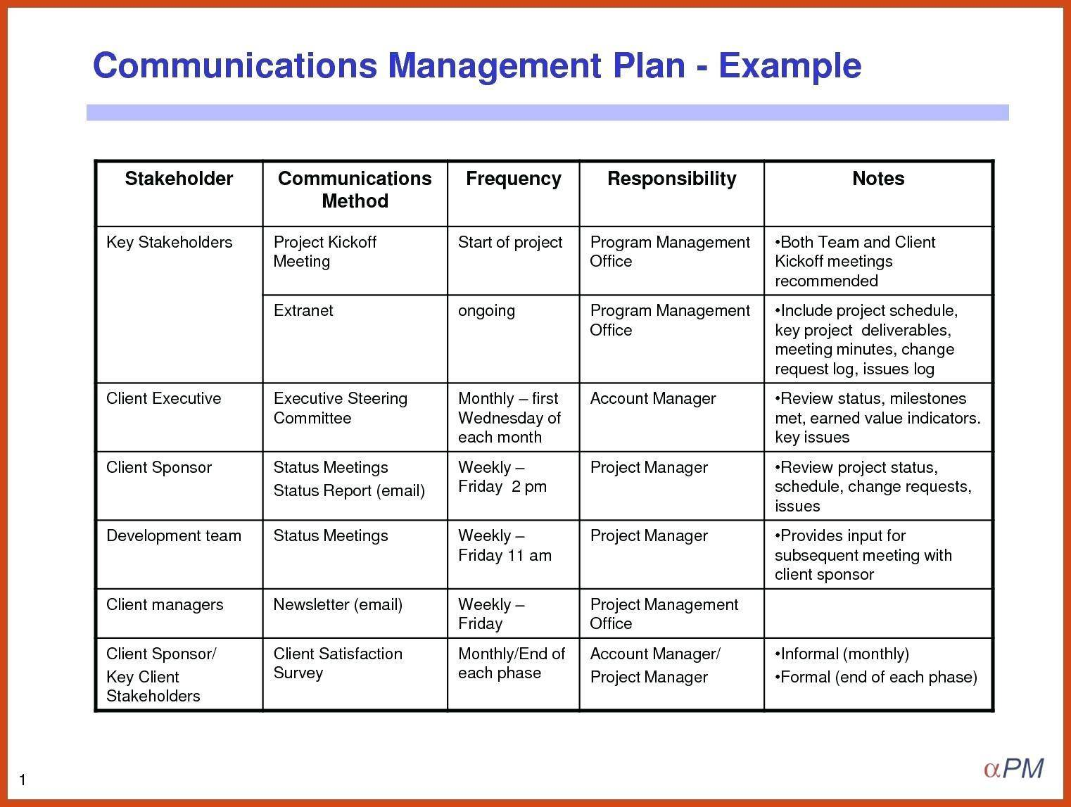 Simple Project Management Charter Template