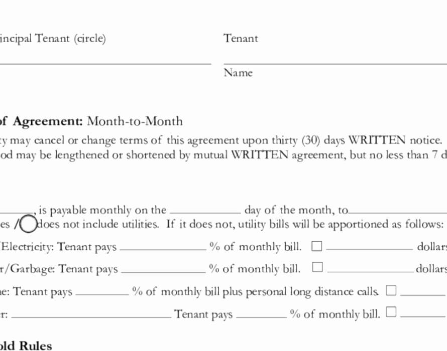 Simple Rental Lease Agreements