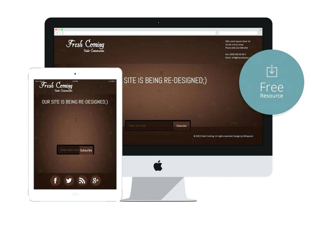Simple Responsive Html5 Templates