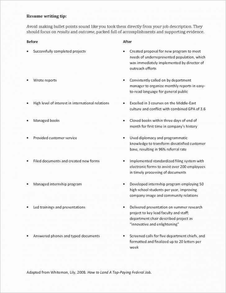 Simple Resume Template For Internship